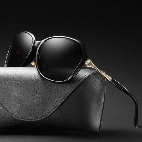 Luxury Sunglasses Polarized Eyewear Uv400 Woman Fashion 2019 Vintage Glasses For Driving Shades Ladies Brand Designer Oversized