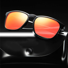 Square Sunglasses Polarized Man's Eyeglasses Uv400 Shades For Women Vintage Glasses Driving Red Retro Tac Polar Male Accessories