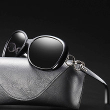 Women Sunglasses Uv400 New 2019 Polarized Vintage Glasses Retro Luxury Design Driving Shades Red Lens Fashion Lady Black Brand
