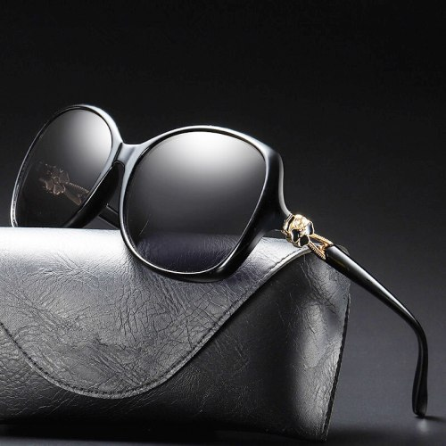 Luxury Sunglasses Uv400 Polarized Woman Fashion 2019 Vintage Glasses For Driving Shades Oversized Retro Female High Quality Tac