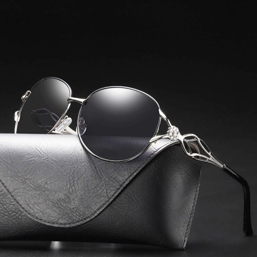 Sunglasses Women Uv400 Eyewear Polarized Glasses For Driving Oversized Retro Red Fashion New 2019 Luxury Brand Designer Ladies