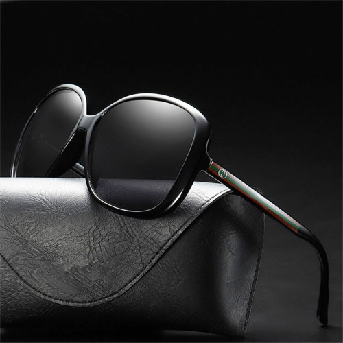 Luxury Sunglasses Polarized Eyewear Uv400 Glasses Women Vintage Driving Shades Retro High Quality Fashion Oversized Ladies Brand