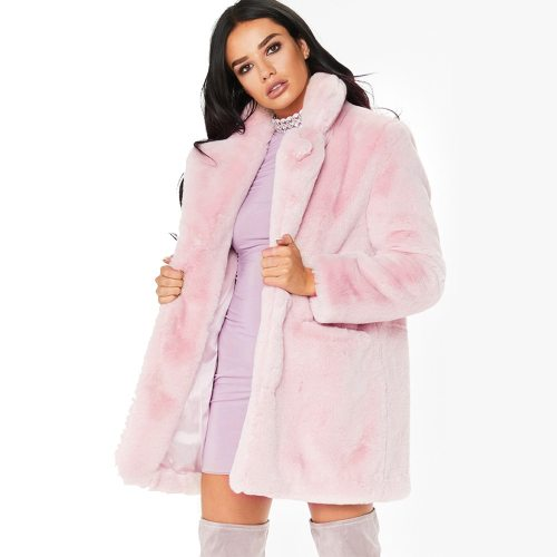 FaylisVow 3xl Plus Size Thick Fur Coat Women Winter Warm Loose Plush Teddy Fluffy Long Sleeve Faux Fur Coats Woman Solid Jackets