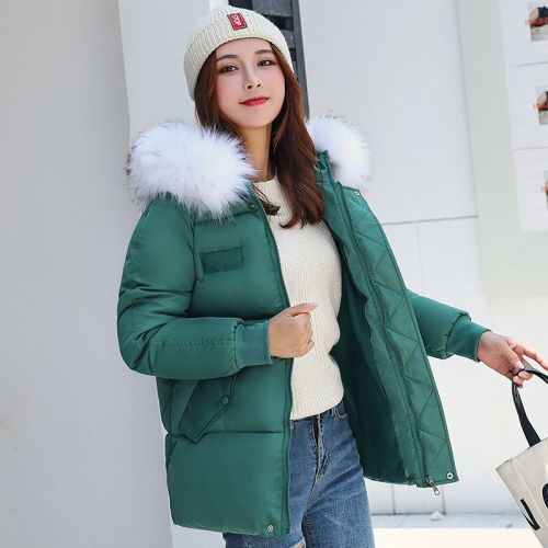 Winter Women Warm Jacket 2019 New Style Fashion Hooded Thickening Cotton Coat Casual Loose Large size Female Parkas NZYD259A