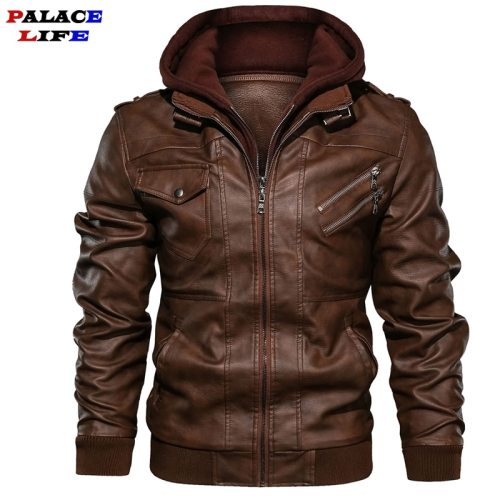 Brand Oblique Zipper Motorcycle Leather Jacket Men 2019 Autumn Winter Streetwear Pu Leather Coat Eu size S-XXXL Jaqueta Couro