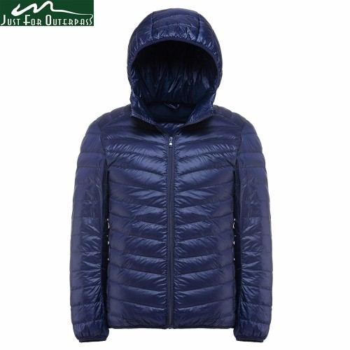 2019 New Casual Brand White Duck Down Jacket Men Autumn Winter Warm Coat Men's Ultralight Duck Down Jacket Male Windproof Parka