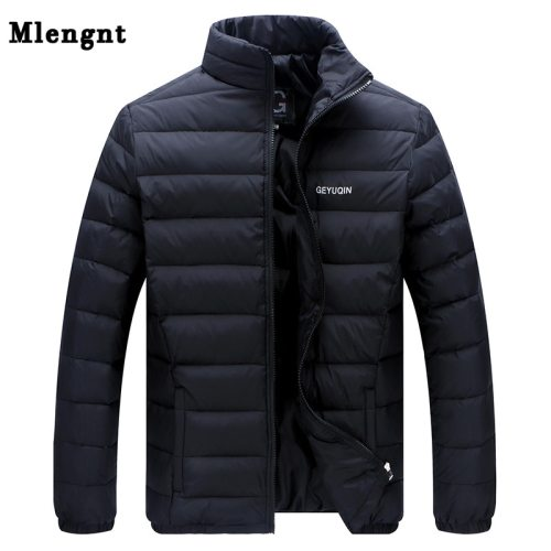 Big Size 2019 White Duck Down Men's Winter Jacket Ultralight Down Jacket Casual Outerwear Snow Warm Fur Collar Brand Coat Parkas