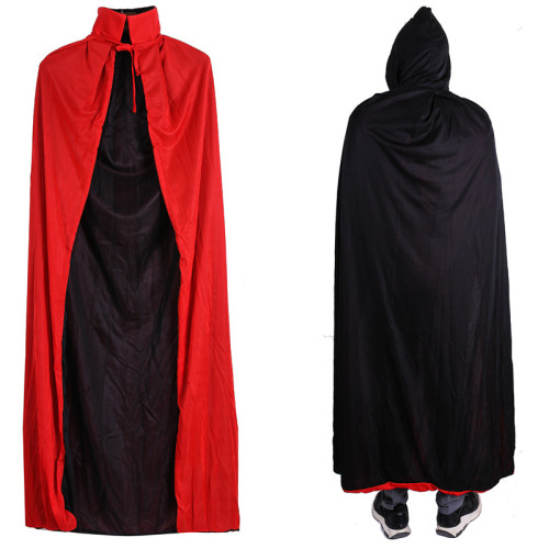 Fashion Capes Cloak Long Velvet Cape for Christmas Halloween Cosplay Costumes