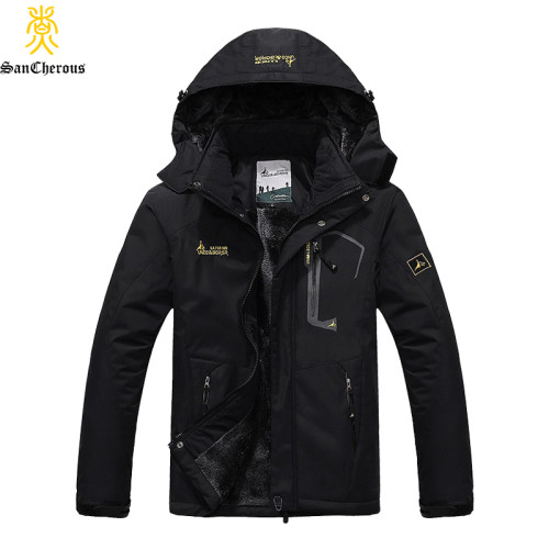 2019 Large Size 9 Colors Warm Outwear Winter Jacket Men Windproof Hood Men Jacket Warm Men Parkas Size L-6XL
