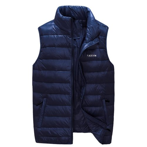 2019 New Arrival Brand Men Sleeveless Jacket Winter Ultralight White Duck Down Vest Male Slim Vest Mens Windproof Warm Waistcoat