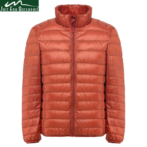 2019 New Winter Down Jacket Men 90 White Duck Down Jacket Stand Collar Ultralight Down Jacket Male Parka Chaqueta Pluma Hombre