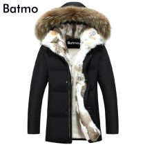 2019 winter duck down jacket men coat parkas warm Liner Female Warm Clothes Rabbit fur collar High Quality,PLUS-SIZE S to 5XL