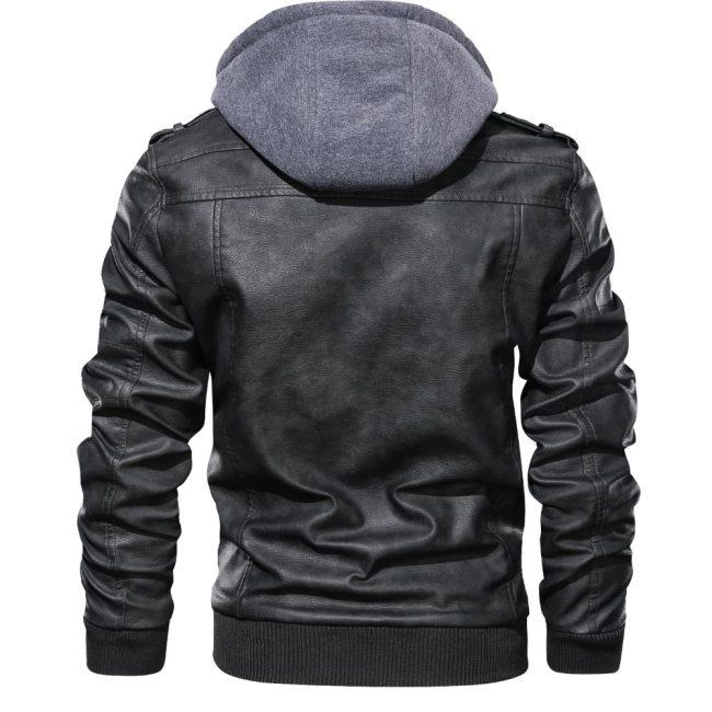 Brand Oblique Zipper Motorcycle Leather Jacket Men 2019 Autumn Winter Streetwear Pu Leather Coat Eu size S-XXXL Jaqueta Couro