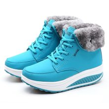Creeper New Women Boots Platform Women Shoes Plush Warm Snow Boots Female Winter Boots Women Sneakers Booties Women's Boots