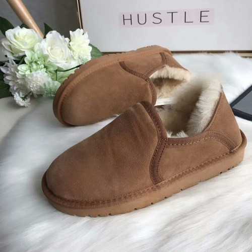 EIOUPI warm winter snow boots real sheep fur leather sheepskin women casual fashion thread sewing ankle flat boot ohz5680