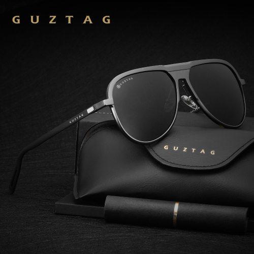 GUZTAG Unisex Classic Brand Men Aluminum Sunglasses HD Polarized UV400 Mirror Male Sun Glasses Women For Men Oculos de sol G9828