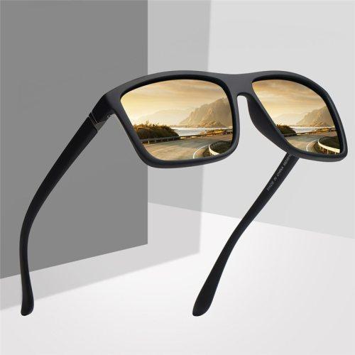 Vintage Retro Sunglasses Men Polarized Minus Prescription Classic Pilot Sun Glasses for Men Driving UV400 Square Male Sunglasses