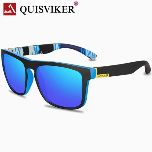 QUISVIKER BRAND 2019 NEW Square Sunglasses Men Polarized Sun Glasses Retro Vintage Goggles Women Fashion UV400 Driving Eyewear