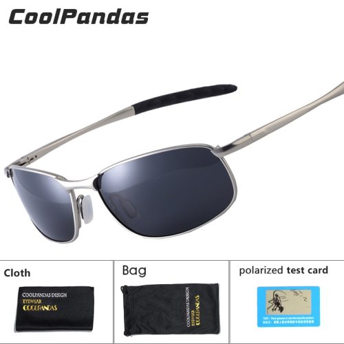 CoolPandas 2019 Polarized Sunglasses Men Brand Designer Small lens Sunglass Men's Driving Sun Glasses gafas oculos de sol UV400