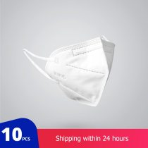 10 pcs KN95 Dustproof Anti-fog And Breathable Face Masks 95% Filtration Mouth Masks 3-Layer Mouth Muffle Cover