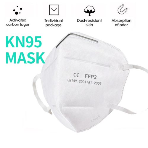 Masks Disposable KN95 Mask FFP2 Protective Mask Safety Masks 99% Filtration for Dust Particulate Pollution N95 Protection
