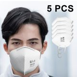5 Layers KN95 Mask 95% Meltblown cloth filter Anti PM2.5 Particulate Pollution Protective Respirator Safety Same as KF94 FFP2