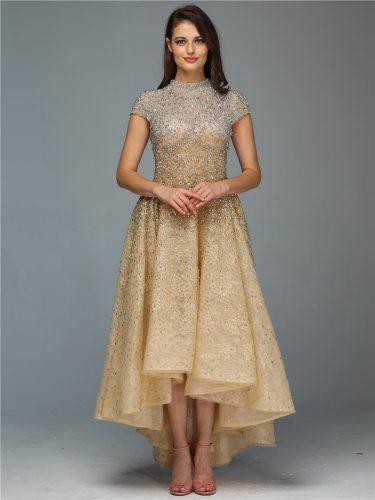 Women's Full Dress Fashion Elegant Evening Zipper High Waist Sleeveless Crew Neck Maxi Bubble Skirt