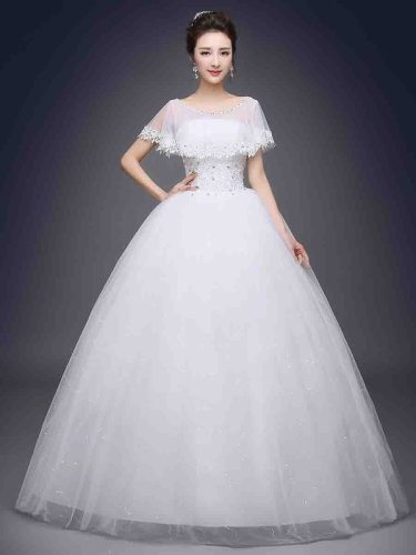 Women's Wedding Dress Elegant Lace Patched Long Slash Neck Slim Coming of Age Ceremony Applique Mid Waist Maxi Sleeveless Bubble Skirt