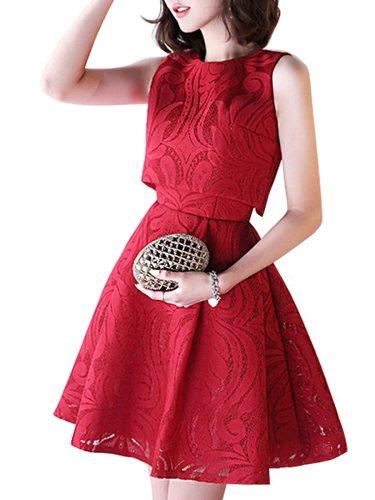 Women's Full Dress Solid Color Jacquard Designed Fashion