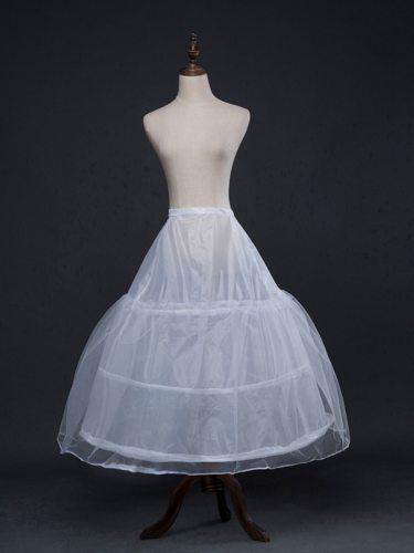 Women's Dress Pannier Patchwork Solid Color Wedding Dress