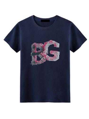 Men's T Shirt Brief Style Loose Plus Size Fashion Short Sleeve Crew Neck Regular Print