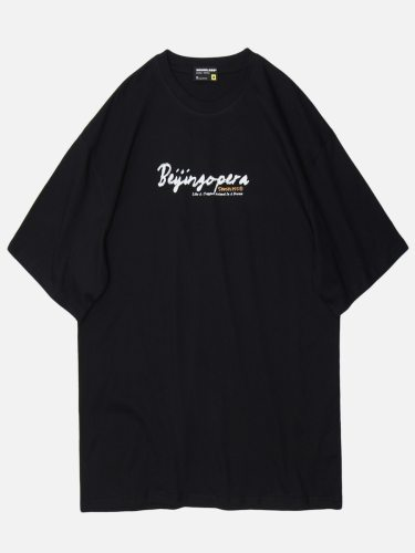 Men's T Shirt Letter Casual Loose Print Fashion Short Sleeve Crew Neck