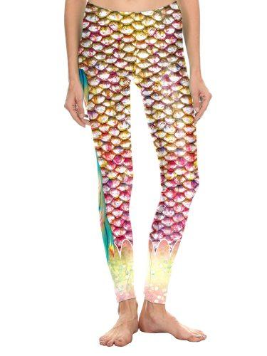 Women's Leggings Patchwork Casual Floral Print Ninth Sporty Slim Low Waist