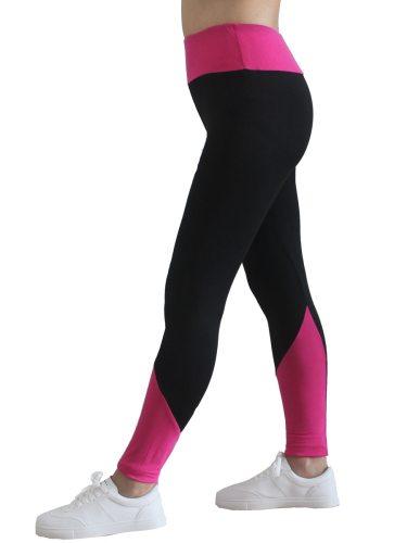 Women's Leggings Sexy Color Block High Waist Patchwork Long Vintage Slim