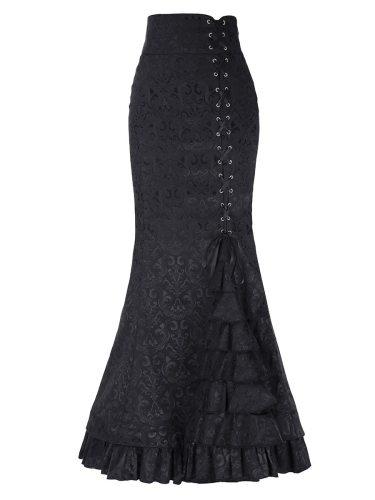Women's Bodycon Skirt Patchwork Bow Bandage Others Maxi Elegant Slim High Waist Jacquard