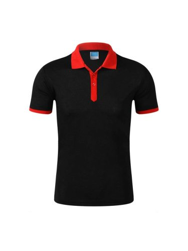 Men's Polo Shirt Color Polo Casual Short Sleeve Turn Down Collar Patchwork