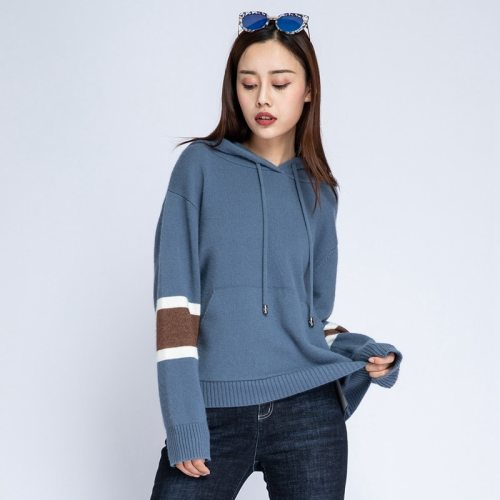 Women's Hoodie Fashion Hooded Casual Loose Long Sleeve Crew Neck The various accessories in the picture are for shooting and are not included in the