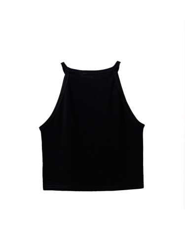 Women's Camisole Chic All Match Sexy Solid Crew Neck