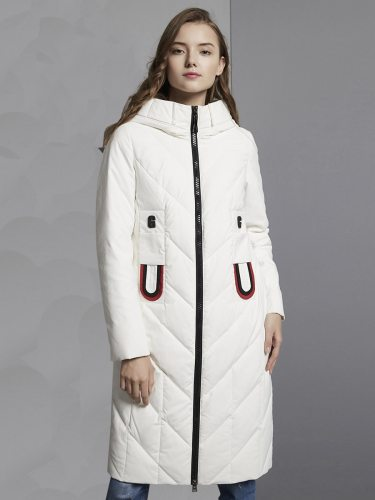 E·BECKY Women's Coat Long Section Down The various accessories in the picture are for shooting and are not included in the products sold Top Fashion