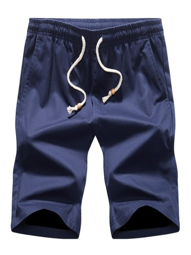 Zhuowolves Men's Fashion Shorts Color All Match Casual Solid ZHUOWOLVES is committed to serve the confident and determined men who pursue strictness