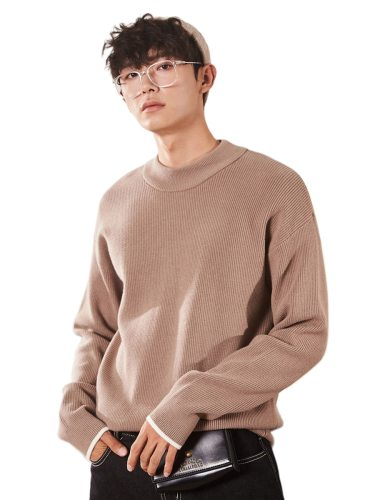 Tonlion Men's Sweater s Keep Warm Faddish Thicken Long Sleeve Fashion Holiday Crew Neck