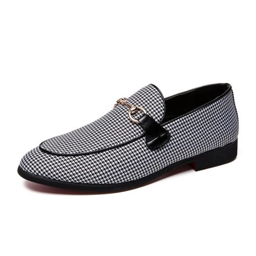 Men's Loafers Round Toe Breathable Light Anti-Skidding Fashion Wearable Flat
