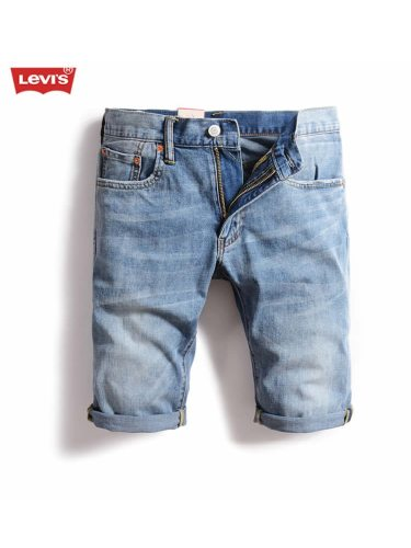 Levi's Men's Denim Shorts Pockets Low Waist Breathable Low Waisted Zipper Loose