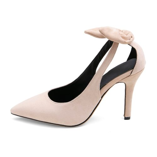 Women's High-Heeled Pumps Hollow Out Thin Heel Others Thin Heels Rubber Sole Slip-On Shoes Solid Color Microfiber leather Dance Shoe Middle Age30-50