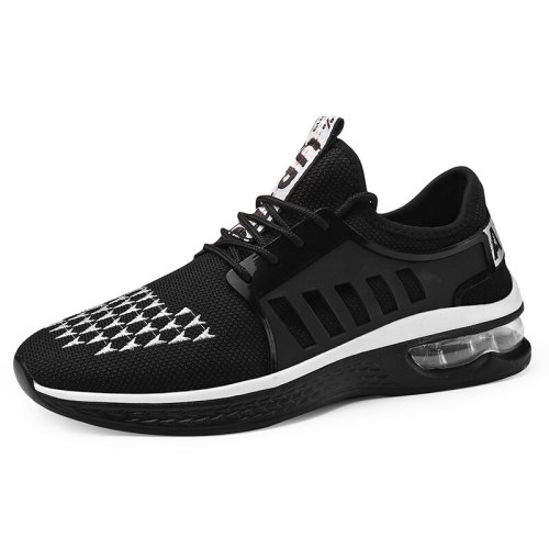 Men's Shoes Fashion Anti-Skidding Breathable Wearable Machine Sewing Thread Sports Lacing