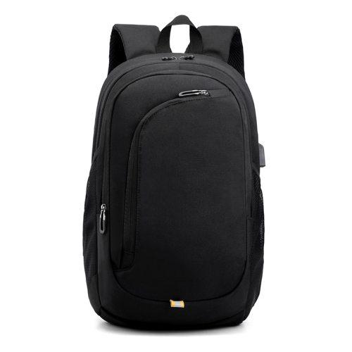 DiDing Men's Backpack Color Zipper Closure Big Capacity Machine Sewing Thread Interior Slot Pocket School bag Casual Colorblock Solid