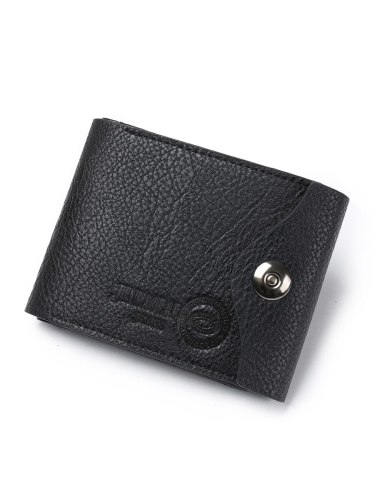 Men's Wallet Soft Stylish Convenient Multi-layers Functional Solid Casual