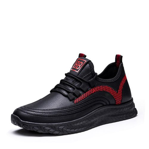 Men's Sports Fashion Shoes Wearable Anti-skidding Comfy Machine Sewing Thread Lacing Breathable Outdoor