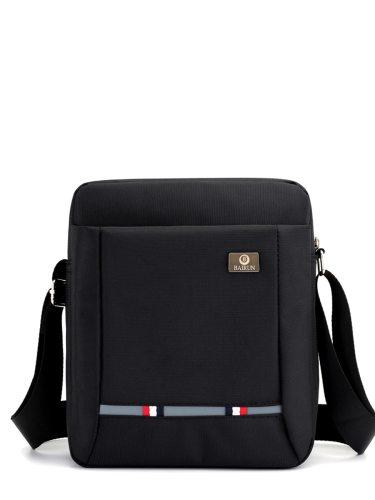 Men's Crossbody Bag Patchwork Casual Outdoor Sports Solid Zipper bags Interior Zipper Pocket