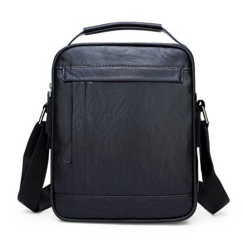 Men's Crossbody Bag Casual Color Large Capacity Closure Solid Zipper bags Interior Slot Pocket Fashion